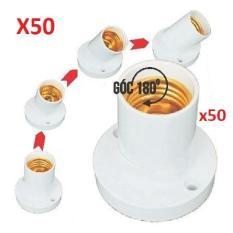 Combo 50 Đui đèn tiêu chuẩn gắn tường E27