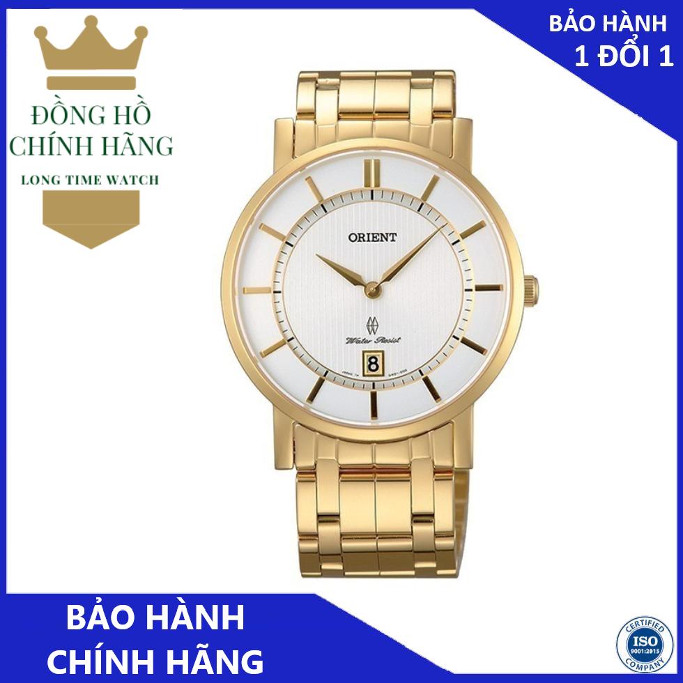 Đồng Hồ Orient Nam FGW01001W0 – Thép không Gỉ – Pin ( Quartz ) – Kính Chống Trầy ( Sapphire )