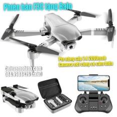 Flycam F3C cam FHD pin nâng cấp 7.4 2000mah có cảm biến bay tặng balo