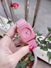 [Ở ĐÂU RẺ HƠN SHOP HOÀN TIỀN] Đồng hồ Nữ GUOU Dây Mềm Mại đeo rất êm tay – Kiểu Dáng Apple Watch 40mm – Chô-ng nươ-c Tô-t