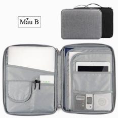 Cặp túi đựng chống sốc Laptop Ipad Surface và tài liệu giấy tờ Baona / Boona