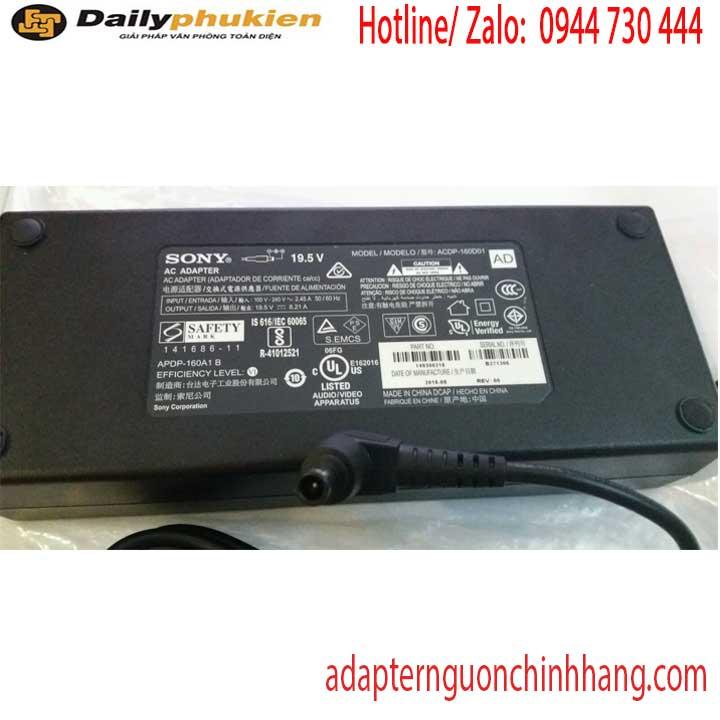 Adapter nguồn màn hình tivi 19.5v 8.1a Sony KD49XE8088