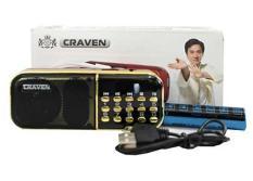 Loa nghe pháp, nghe FM bằng thẻ nhớ, USB Craven CR-25A + Tặng cóc sạc