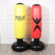 Bao tập đấm đá Boxing PVC kích thước 160cm, trụ tập võ di động gấp gọn cao cấp