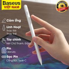 Bút Cảm Ứng Điện Dung Smooth Baseus Cảm Ứng Màn Hình Cho Ipad Pro Air Cho Apple iPad Pencil 2 – Phân Phối Chính Hãng Bởi Baseus Việt Nam