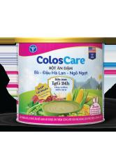 Bột ăn dặm ColosCare bổ sung sữa non IgG24h – vị bò đậu hà lan ngô ngọt (200g)