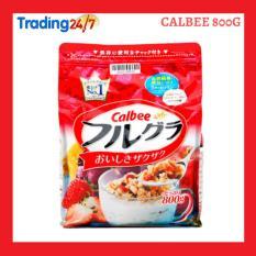 Ngũ cốc Calbee màu đỏ 800g Nhật Bản (HSD T5/2020)