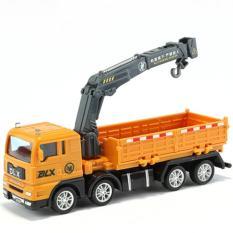 Xe đồ chơi mô hình, xe tải nâng hàng cho bé chất liệu nhựa an toàn, kích thước lớn