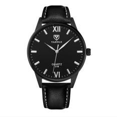 Đồng hồ nam Yazole 318 dây da sang trọng + Tặng hộp đồng hồ Win Win (Nhiều màu)