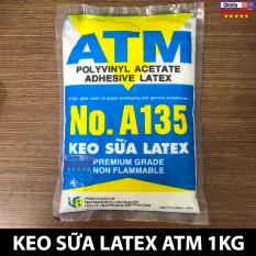 Keo Sữa Latex ATM A-135 Bịch 1Kg – Keo Sữa Làm Slime – Keo Sữa Dán Gỗ – Keo Sữa Dán Giấy – Dán Có Độ Kết Dính Cao Và Bền Chắc