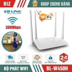 Bộ phát wifi Lb-Link Wr450H – Router Wifi chuẩn N 300Mb!
