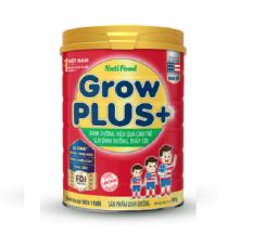 Nutifood Grow Plus+ Đỏ 900g : Sữa cho trẻ từ 1-10 tuổi bị suy dinh dưỡng, thấp còi