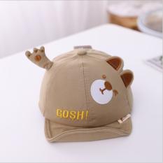 Mũ nón bé trai đáng yêu. Mũ nón lưỡi trai hoạt hình. Mũ nón cho bé 4-18 tháng. My little boss