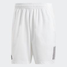 adidas TENNIS Quần short Club 3 Sọc 9 inch Nam Màu trắng DP0302
