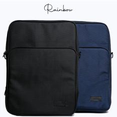 Túi đựng laptop vải gai dầu chống nước lót lông mềm mại chính hãng RAINBOW