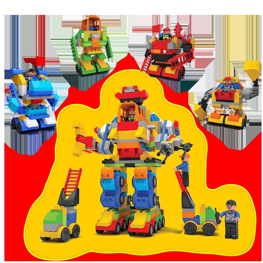 Đồ chơi xếp hình trẻ em Nhựa Chợ Lớn 356