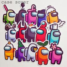 Set 15 Sticker thiết kế chủ đề Among Us siêu hot – Case Sover