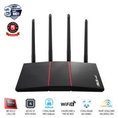 Router Wifi Asus RT-AX55 Chuẩn AX1800 Dual Band WiFi 6 – Hàng Chính Hãng