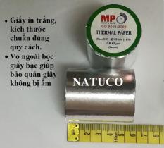 Combo 10 cuộn giấy in nhiệt K57-58 dành cho máy in bill khổ nhỏ