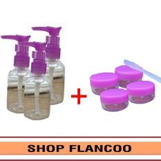 Bộ chiết mỹ phẩm du lịch 8 món Flancoo S1302 (Ngẫu nhiên)
