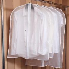 Túi bọc quần áo treo tủ chống bụi chống thấm có khóa kéo