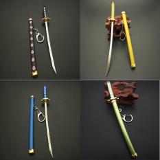 Mô hình Katana Zoro One Piece dùng làm móc khóa hoặc trưng bày