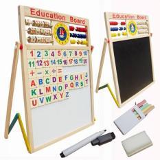 Đồ Chơi Giáo Dục Trẻ Em Benrikids, Bảng Chữ Cái Bằng Gỗ Cho Bé, Bảng Từ Tính Gỗ Nam Châm Cho Bé Học
