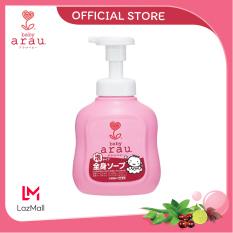 Sữa tắm trẻ em Arau Baby dạng bình 450ml (Mua chai tặng túi)