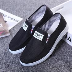 Giày lười vải nam thời trang – sport kiểu dáng đơn giản có 2 màu
