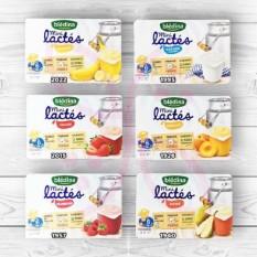Vỉ 6 hộp sữa chua nguội Bledina hàng air đủ vị cho bé (đào dâu việt quất), sản phẩm đa dạng về, chất lượng tốt, cam kết hàng nhận được giống với mô tả