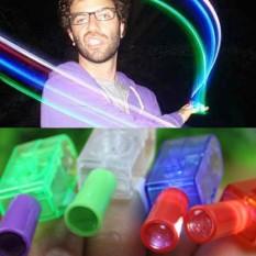 Đồ chơi đèn LED phát sáng biểu diễn trên ngón tay