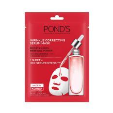 Mặt nạ Pond's tinh chất ngăn ngừa lão hóa Wrinkle Correcting Serum Mask 21ml
