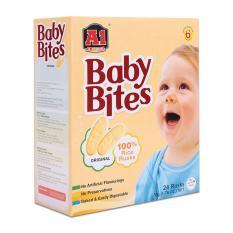 Bánh Gạo Ăn Dặm Cho Bé BABY BITES vị truyền thống (hộp 50g)