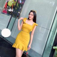 Set Áo 2 Dây Buộc Nơ kèm Chân Váy Đuôi Cá Thời Trang Olivia Secret