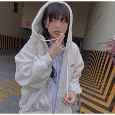 Áo hoodie,áo khoác hoodie nỉ nam nữ chất thun nỉ mềm mịn from rộng OHOH ( có khóa kéo)