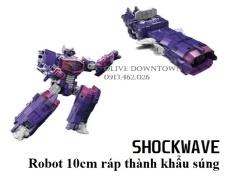 Robot cao 10cm ráp thành các mẫu XE và QUÁI THÚ – HASBRO Transformers – Hàng VNXK