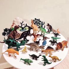 Hộp 15 con khủng long kèm phụ kiện quà tặng cho bé