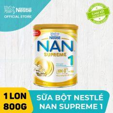 [FREESHIP 30K HCM&HN ĐƠN 399K] Sản phẩm dinh dưỡng công thức Nestle NAN SUPREME 1 800g cho trẻ từ 0-6 tháng tuổi giúp trẻ dễ tiêu hóa và tăng cân khỏe mạnh