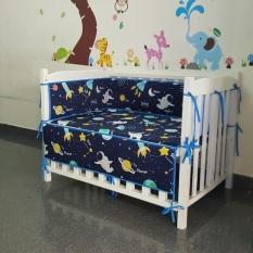 Bộ giường cũi – nôi cũi trẻ em B01