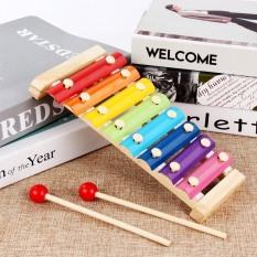 Đồ chơi trẻ em đàn xylophone 8 âm bằng gỗ phát triển trí não và cảm quan cho bé gái và trai từ 1 tuổi trở lên
