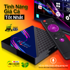 Tivi box, tv box, android tv box xem phim 4k, bộ nhớ 8G, ram 1G, android 10.0 mới nhất, xem nhiều kênh truyền hình trong nước, bảo hành 12 tháng H96MINI V8
