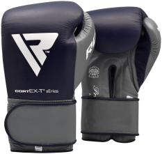 Găng tay boxing RDX BOXING GLOVES PRO BLUE WITH STP