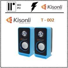 Loa Vi Tính Kisonli T-002 – BH 1 Đổi 1 – 10 tháng + 2