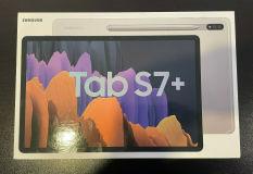 Brand New Samsung Galaxy Tab S7+ Plus 256GB Wi-Fi 12.4″ Mystic Silver Android SPen