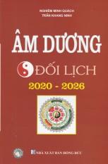 Sách Âm Dương Đối Lịch 2020-2026 (bản chuẩn)
