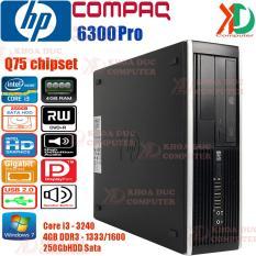 Máy Tính Đồng Bộ Siêu Bền HP Compaq 8300/6300Pro – Core I3/4GB Ram/250GB HDD Xuất Xứ Châu Âu.