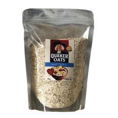 Yến mạch quaker oats quick one minute loại cán vỡ túi 500g giúp giảm cân, bé ăn dặm susuto shop