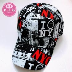 Nón kết NYC phong cách Hàn Quốc,mũ lưỡi trai NYC