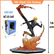 Mô hình One Piece Sanji F.zero hàng cao cấp đế có chữ tên nhân vật sanji cao 16cm có hiệu ứng chiến đấu đặc biệt , figure mô hình anmie , mô hình giá xưởng
