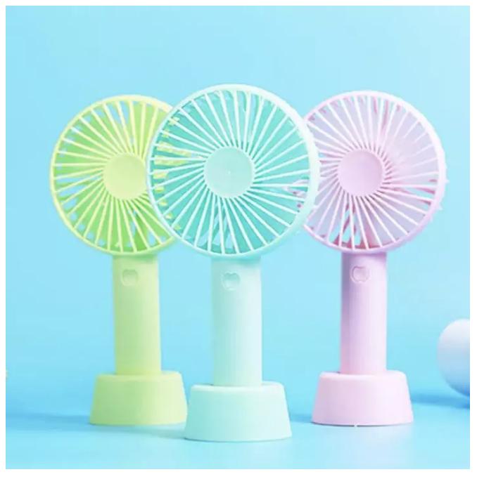 Quạt Mini Fan Có Pin Sạc Cầm Tay Tuỳ Chỉnh 3 Cấp Độ Siêu Mát Hàn Quốc(Nhiều Màu có đế tặng kèm 2020